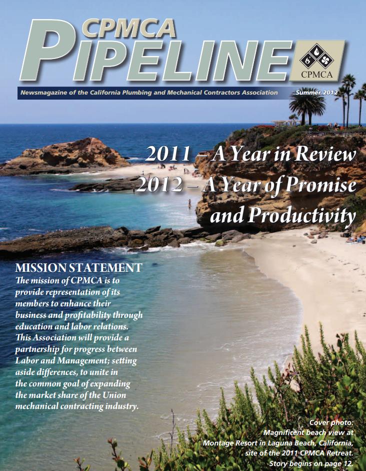 Magazine Cover Summer 2012